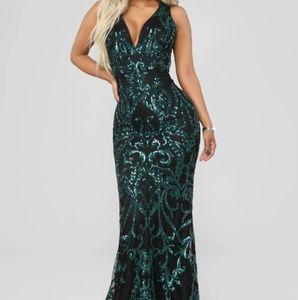 Dara Sequin Dress